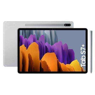 Tablet samsung galaxy tab s7+ 12.4'/ 6gb/ 128gb/ plata