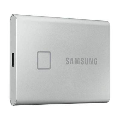 Disco externo ssd samsung portable t7 touch 500gb/ usb 3.2/