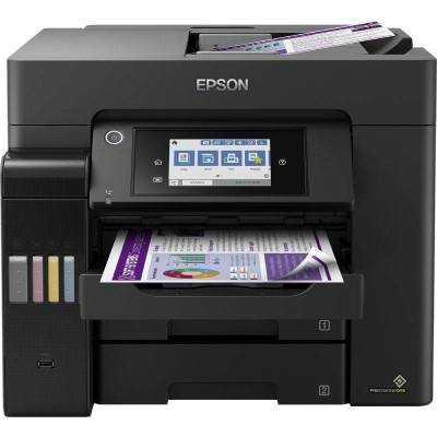 Multifunción recargable color epson ecotank et-5850 wifi/ fax/