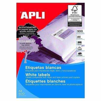 Etiquetas adhesivas apli 01782/ 70 x 35mm/ 500 hojas