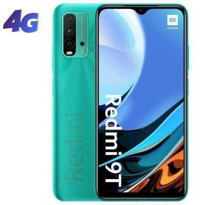 Smartphone xiaomi redmi 9t nfc 4gb/ 64gb/ 6.53'/ verde océano