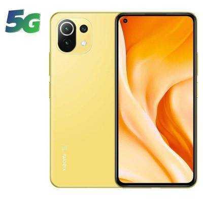 Smartphone xiaomi mi 11 lite 8gb/ 128gb/ 6.55'/ 5g/ amarillo