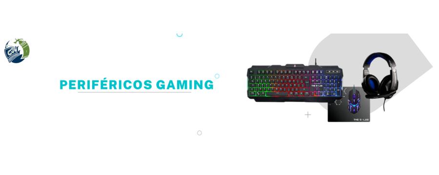 Periféricos Gaming: Auriculares, Ratones, Teclados, Micrófonos, Fuentes..