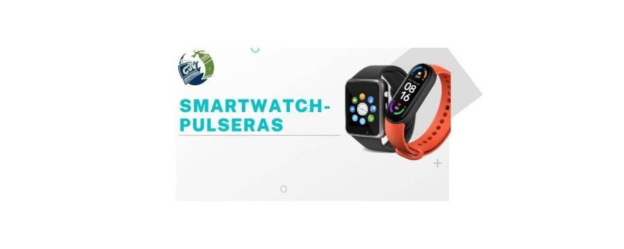 SmartWatch - Pulseras: Relojes con localizador, Pulseras Smartband...