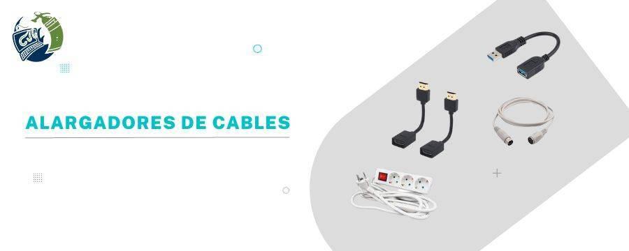 Alargadores: Alargadores de alimentación y Datos, Alargadores USB...