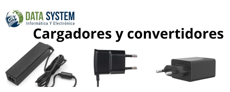 Cargadores y Convertidores: Cargadores de Baterias, Inversores de corriente