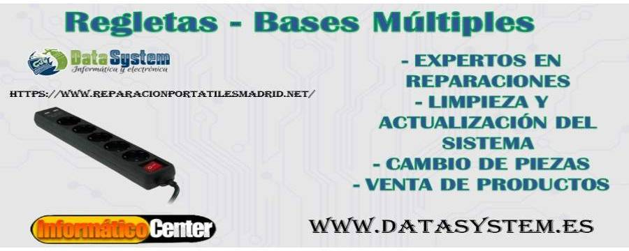 Regletas - Bases Multiples