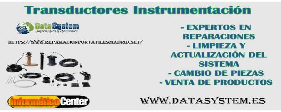 Transductores Instrumentación