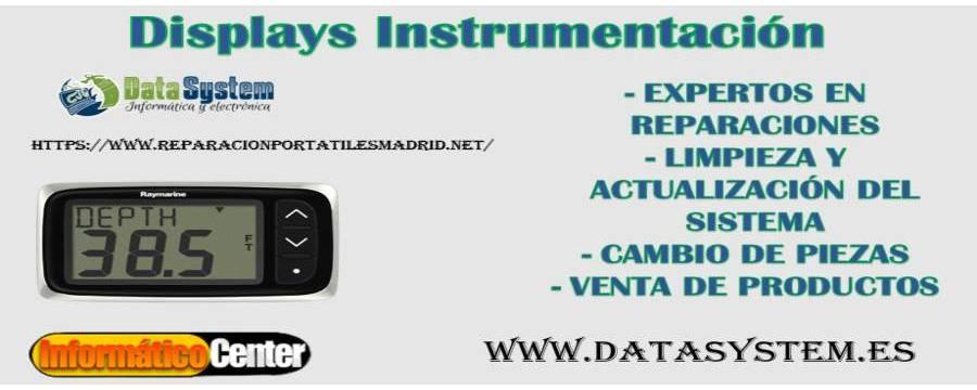 Displays Instrumentación