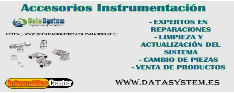 Accesorios Instrumentación