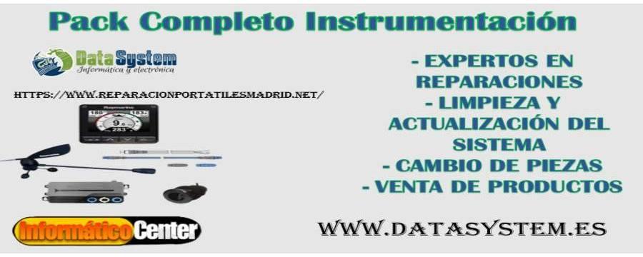 Pack Completo Instrumentación