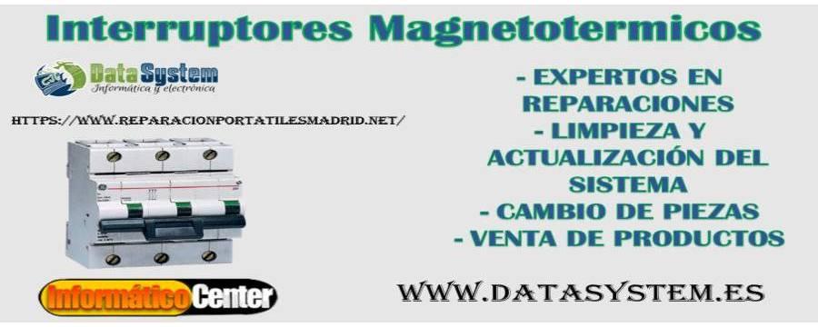 Interruptores Magnetotermicos