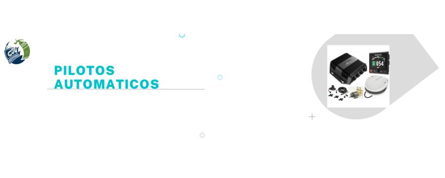 Pilotos automáticos: Componentes, Packs y Accesorios.