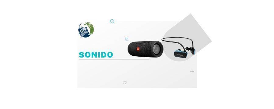 Sonido: Mesa de mezclas fonestar sm-507ub, Reproductor mp3 spc firefly/8gb/radio fm/blueetooth/azul